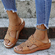 Load image into Gallery viewer, Women Sandals Plus Size Summer Sandals Shoes Heels Sandalias Mujer Soft Bottom Wedges Shoes - www.eufashionbags.com