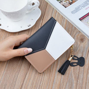 Women Wallets Small Leather Purse Ladies Card Bag For Women Purse Money Clip Wallet-EUFASHIONBAGS