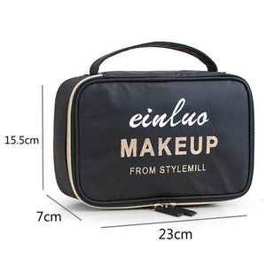 New Travel Bag Cosmetics Toiletry Bag Organizer Waterproof Makeup Beauty Case Women large storage pouch - EUFASHIONBAGS