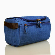 Load image into Gallery viewer, Men cosmetic bag Waterproof oxford toiletry bag travel organizer mill sand Beautician case Bath Wash bag - EUFASHIONBAGS