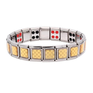 Tourmaline Energy Balance Bracelet Health Care Jewelry Men Women Germanium Bangle h02 - EUFASHIONBAGS