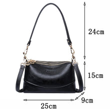 Load image into Gallery viewer, High quality Soft Leather Small Tote Handbags Women Shoulder Bags Crossbody Bags - EUFASHIONBAGS