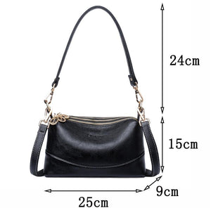 High quality Soft Leather Small Tote Handbags Women Shoulder Bags Crossbody Bags - EUFASHIONBAGS