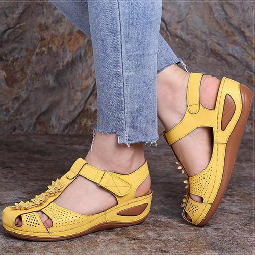 Women Sandals Plus Size Wedges Shoes Woman Heels Sandals Casual Shoes - EUFASHIONBAGS