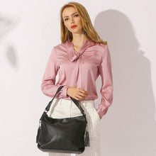 Load image into Gallery viewer, New Fashion Soft Genuine Leather Tassel Women's Handbag Hobo Crossbody Shoulder Bags Bucket Z01 - EUFASHIONBAGS