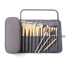 Load image into Gallery viewer, Makeup Bag Women's Cosmetic Brush Bag Travel Organizer Brushes Fold Tools Rolling Bags Waterproof Nylon Makeup Case - EUFASHIONBAGS