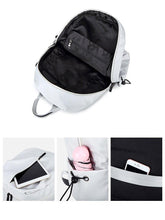 Laden Sie das Bild in den Galerie-Viewer, Waterproof Women Backpack Daliy Casual Outdoor Ladies Knapsack Large Capacity Multifunction Teenager School Bags z08 - EUFASHIONBAGS
