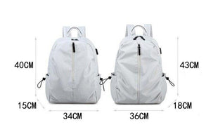 Waterproof Women Backpack Daliy Casual Outdoor Ladies Knapsack Large Capacity Multifunction Teenager School Bags z08 - EUFASHIONBAGS