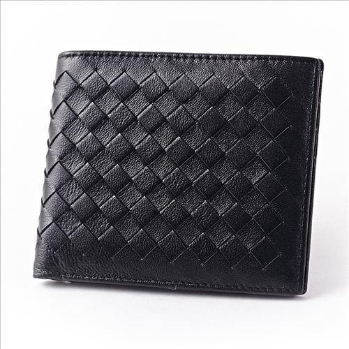 SheepSkin Knitting Men Wallet Fashion Men's Purses - EUFASHIONBAGS