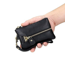 Load image into Gallery viewer, Genuine Leather Key Wallet Men & Women Car Key Bag Key Chain Holder - EUFASHIONBAGS