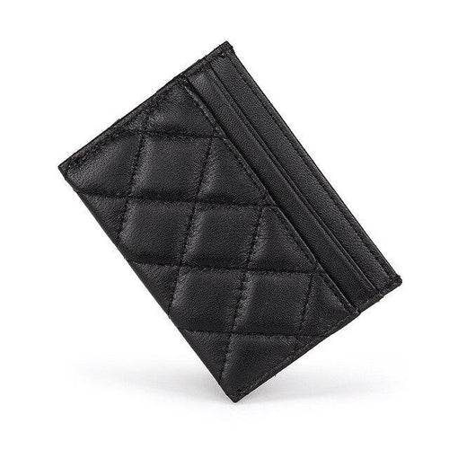 Sheepskin Card Wallet Women визитница для карт Ultra Thin Men Credit Card Holders - EUFASHIONBAGS