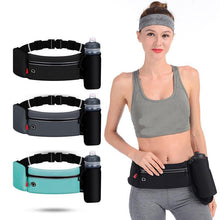 Load image into Gallery viewer, Dual Pocket Running Belt Trail Running Waist Bag For Phone Sports Fanny Pack - EUFASHIONBAGS