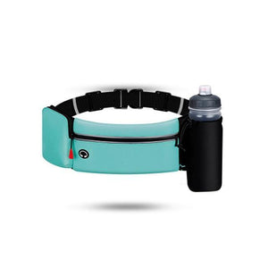 Dual Pocket Running Belt Trail Running Waist Bag For Phone Sports Fanny Pack - EUFASHIONBAGS