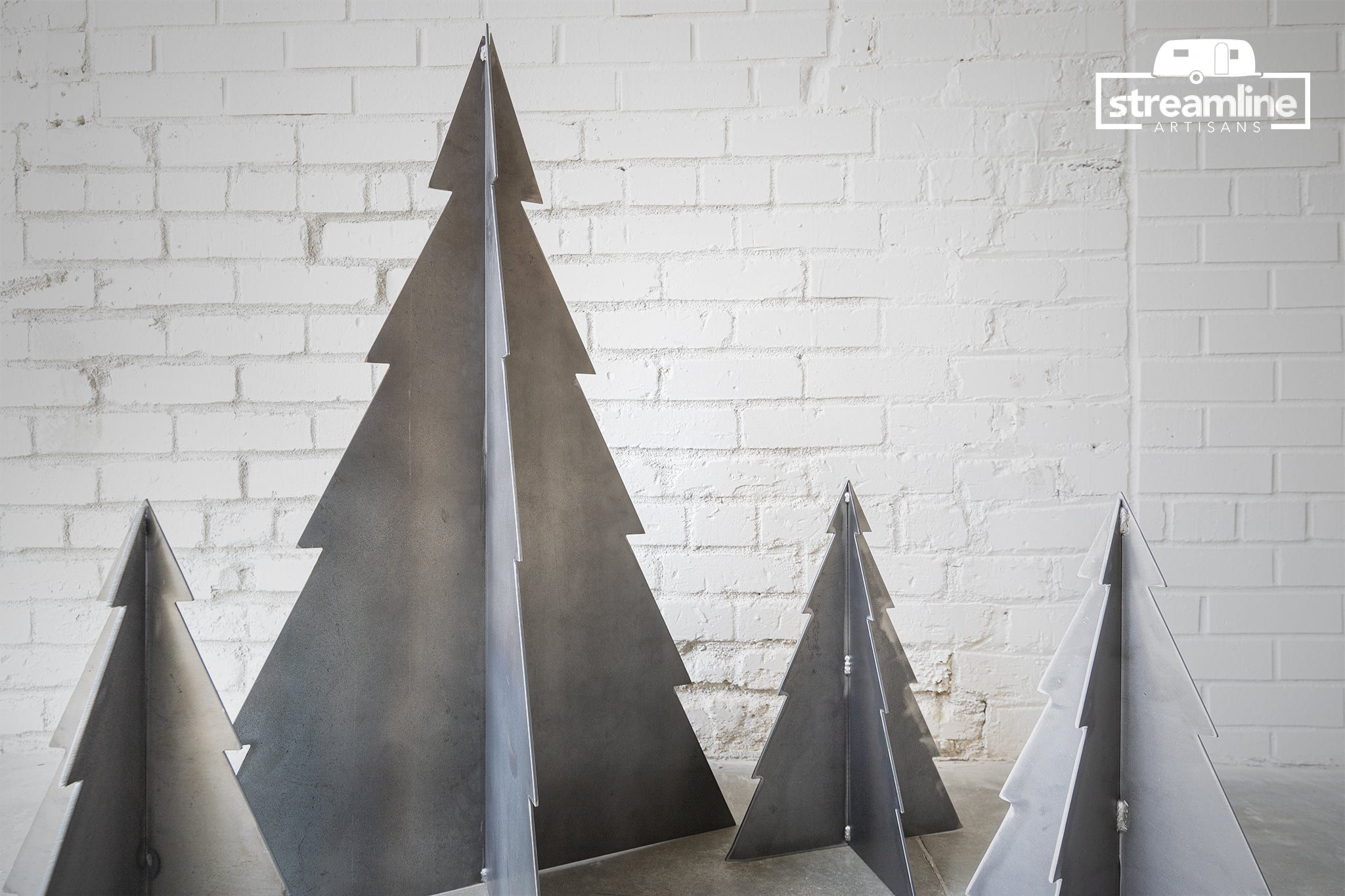 Handmade Metal Christmas Tree