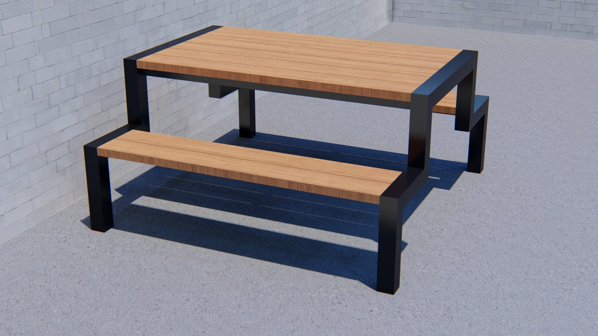Bessemer Picnic Table