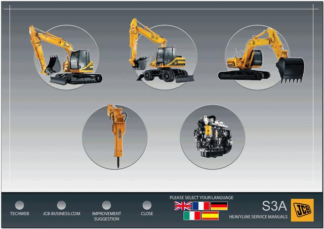 JCB Compact Service Repair Manuals 2011 -Dealer Service Information Software 2011 - Online Installation Service