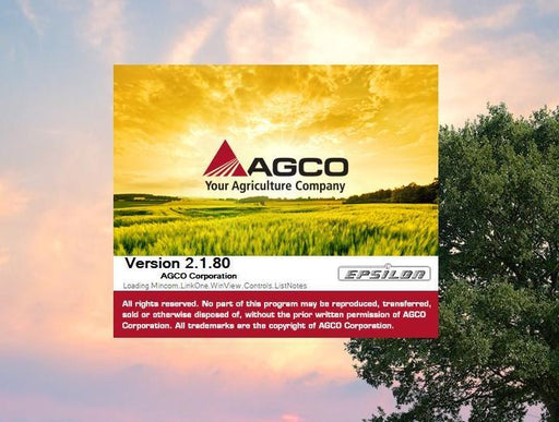 AGCO Agricultural EPC & Service Info ALL Database EU-UK Latest 2019 - Online Installation Service
