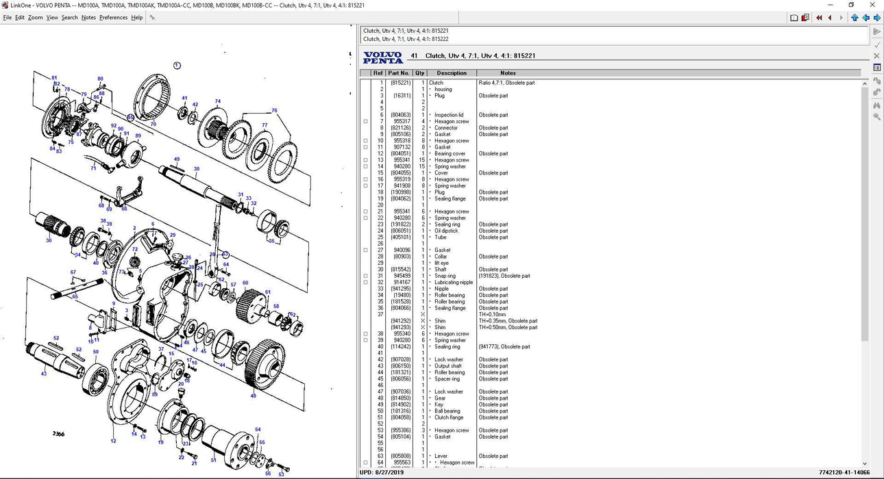 VOLVO Penta EPC 2020 Parts Manuals Software For All Volvo Marine and Industrial Engine Up To 2020