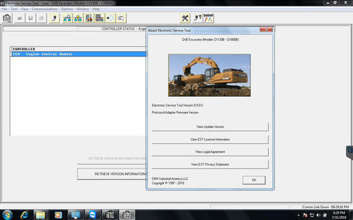 New Holland Case Electronic Service Tools CNH EST 9.4 Diagnostics Software - Engineering Level Latest 2021