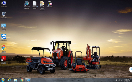 KUBOTA \ TAKEUCHI Complete Diagnostics Kit With DST-i Diagnostic Adapter & CF-52 Laptop With Latest Diagmaster 2020 Software