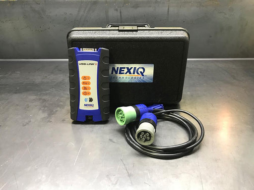 124032 Genuine Nexiq USB Link 2 & CF-52 Laptop - Universal Heavy Duty Diagnostic Kit With ALL Software Package Pre Installed - CAAT-Cummins-Detroit Diesel-Volvo-Allison-Hino And More !!!
