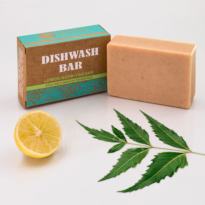 Probiotic Dish Wash Bar Soap- Let's go Zerowaste with Karmic Seed