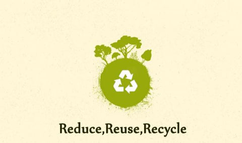 Reduce waste recycle reuse waste