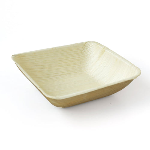 Palm Leaf Deep Square Bowls 5