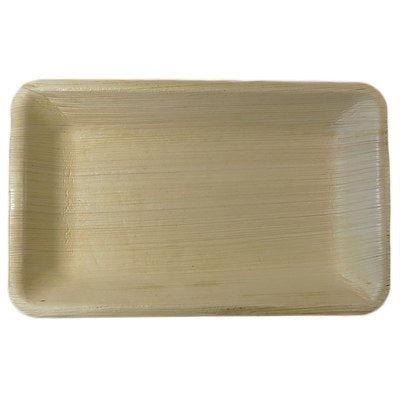 Palm Leaf Rectangle tray 9x6 Inch