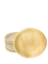 "Load image into Gallery viewer, Palm Leaf Plates Round 7"" Inch"