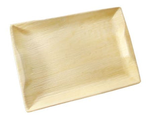 Palm Leaf Rectangle tray 14 inch x 10 inch charcuterie Platter