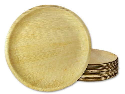 Palm Leaf round Plate 12 inch Charcuterie Disposable plate