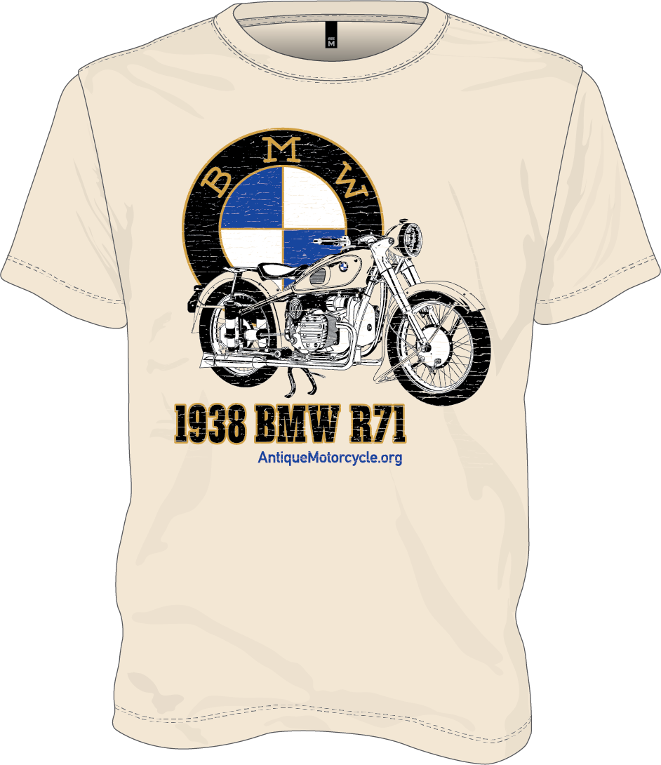 Tee: Natural - 1938 BMW R71