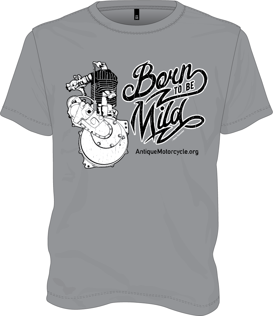 Tee: Gray - Born to be Mild