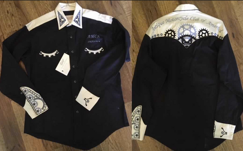 Ladies Cut Dress Shirt: CUSTOM Long Sleeve Western Shirt