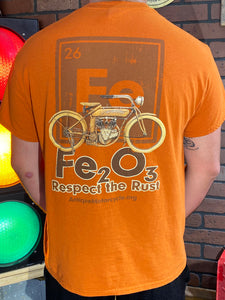 Short Sleeve Tee: Respect The Rust