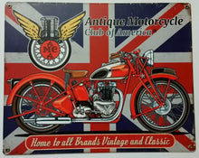 "Load image into Gallery viewer, Wall Decor: Union Jack - Metal 12"" x 15"""
