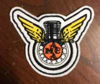 Patch: Winged Logo-3.5""