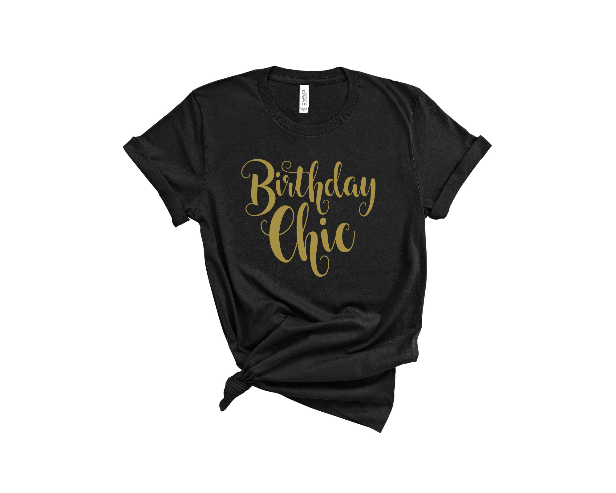 Birthday Chic Tee
