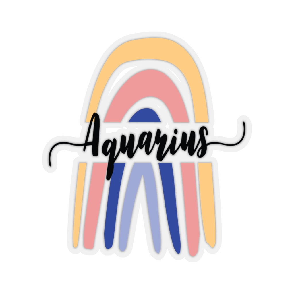 Aquarius Rainbow Sticker