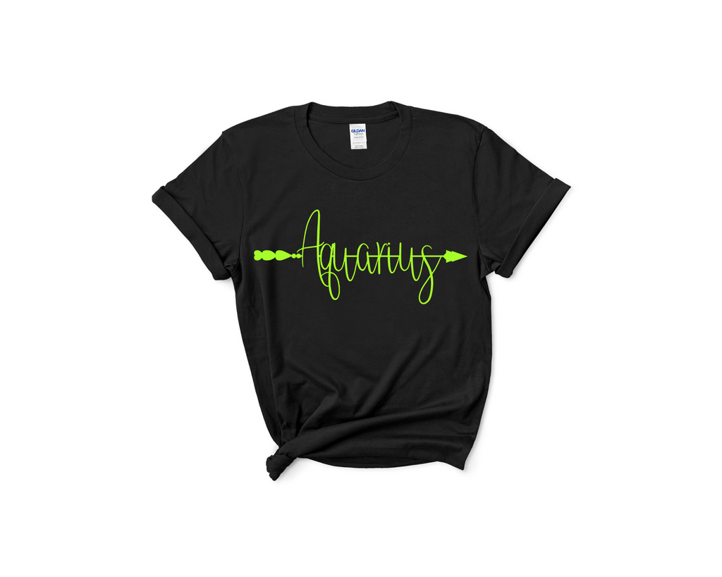 Aquarius Arrow Tee