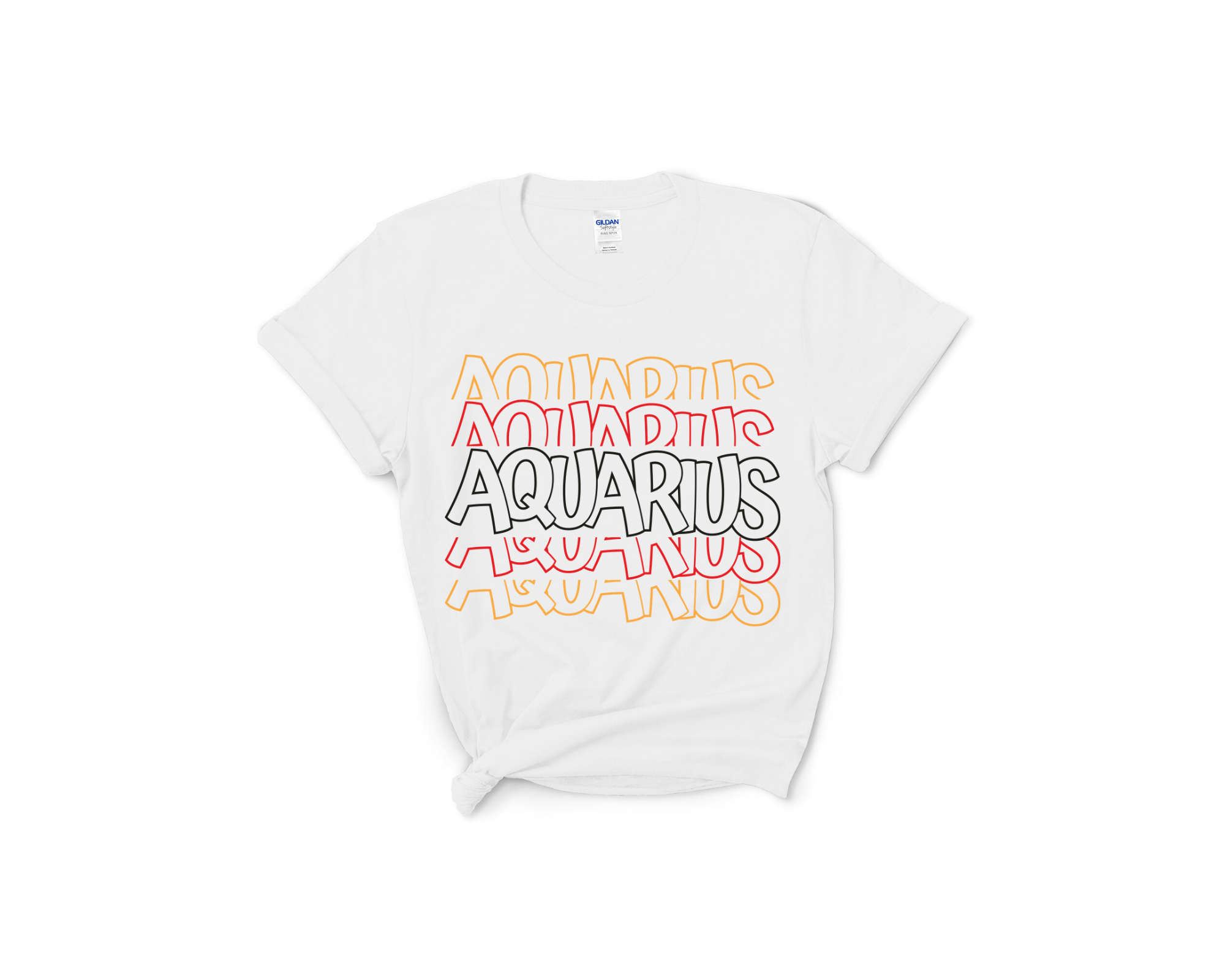 Aquarius Layered Tee
