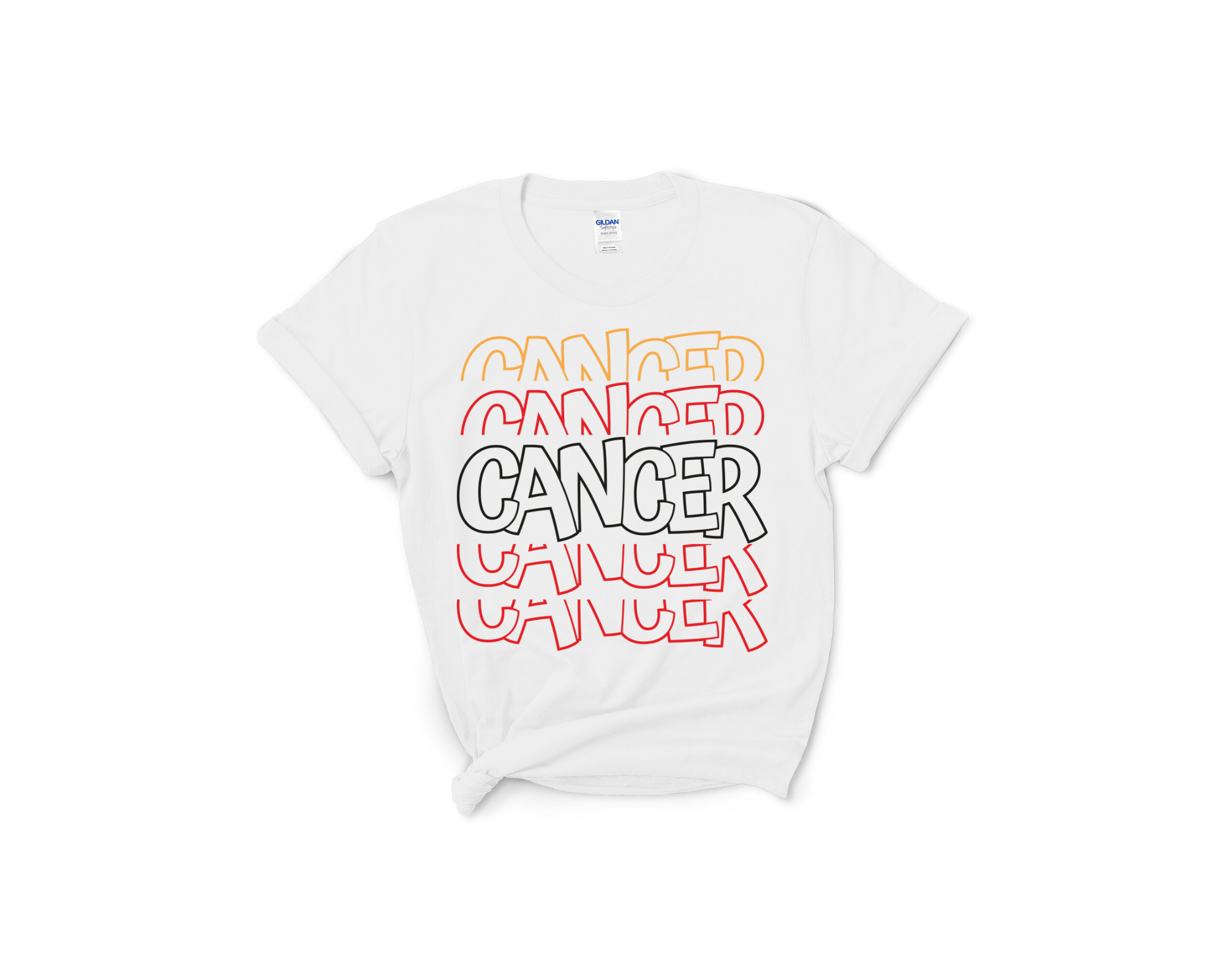 Cancer Layered Tee
