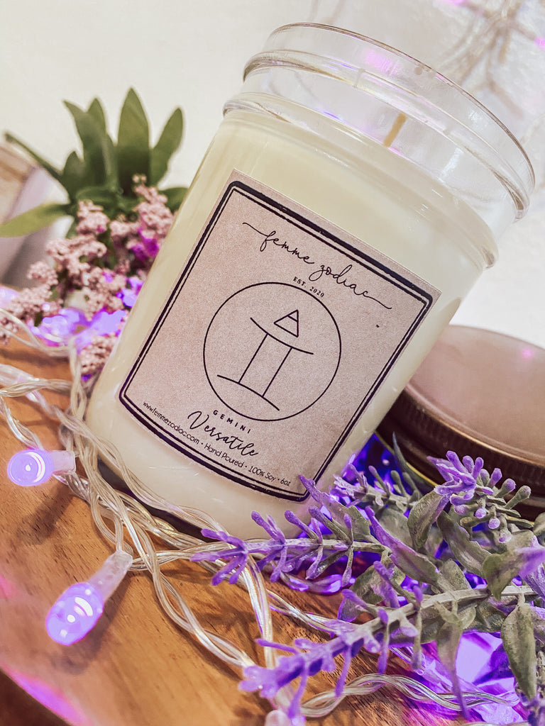 Gemini Soy Candle