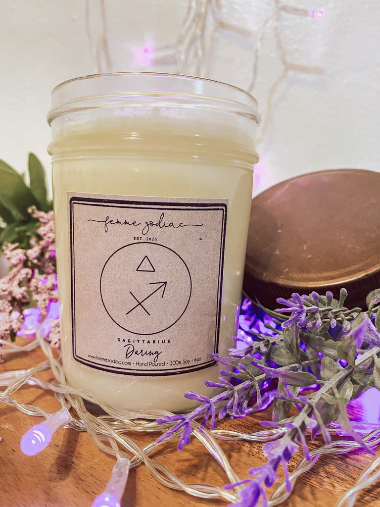 Sagittarius Soy Candle