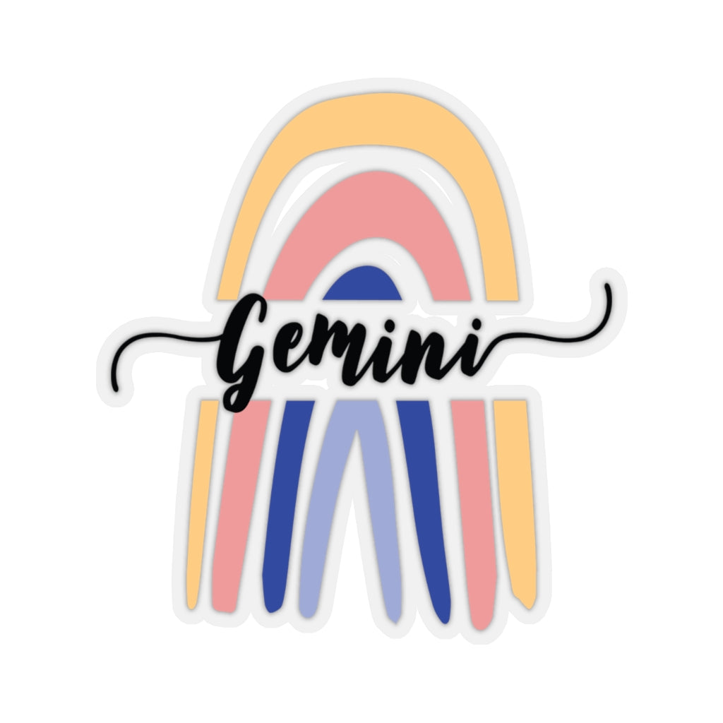 Gemini Rainbow Sticker