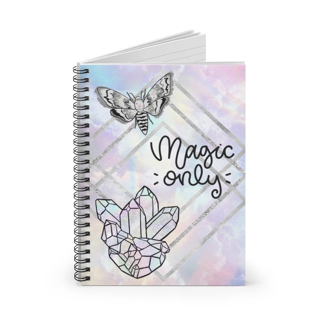 Magic Only Spiral Notebook