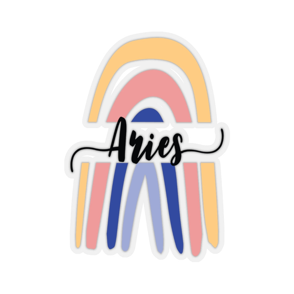 Aries Rainbow Sticker