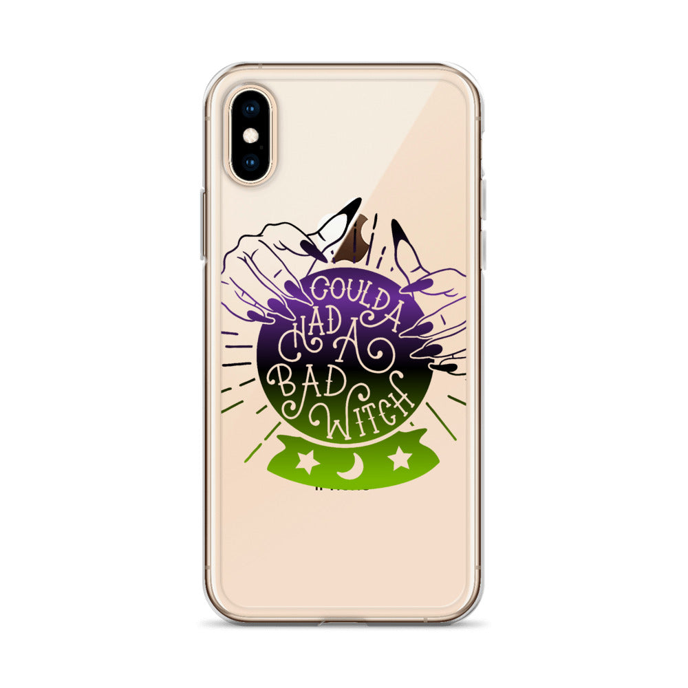 Coulda Had a Bad Witch iPhone Case