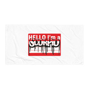 Scorpio Beach Towel
